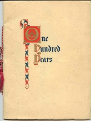 The 100 Years Brochure Cover