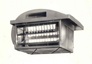 12 lt London Lamp Model 3020 cut 550
