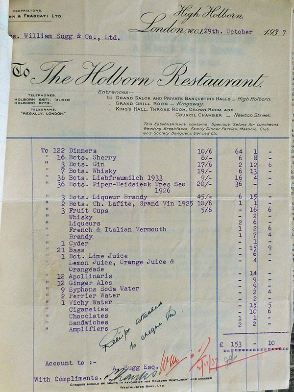 Centenary-Dinner-Invoice
