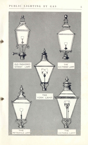Copy of Public lighting by gas early lamps 10