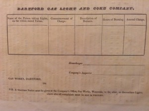 Dartford charges, rear 1840's