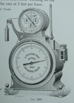 Experimental Clock Meters Dec 1909 260 pix