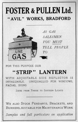 Foster & Pullen Strip Lantern ad 260