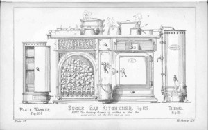 Gas Kitchener 550 w