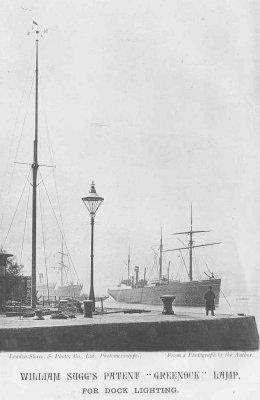 Greenock for Dock Lighting cut & 260 w