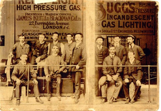 Irish Gas workers 1890-95 550