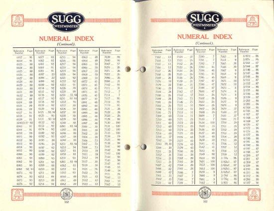 List 11 1931-2 102 & 103 550