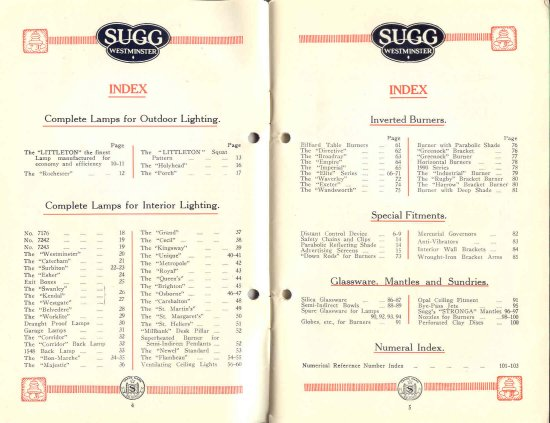 List 11 1931-2 4 & 5 550