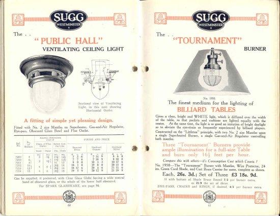List 11 1931-2 60 & 61 550