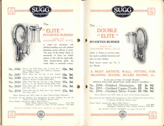 List 11 1931-2 70 & 71 550