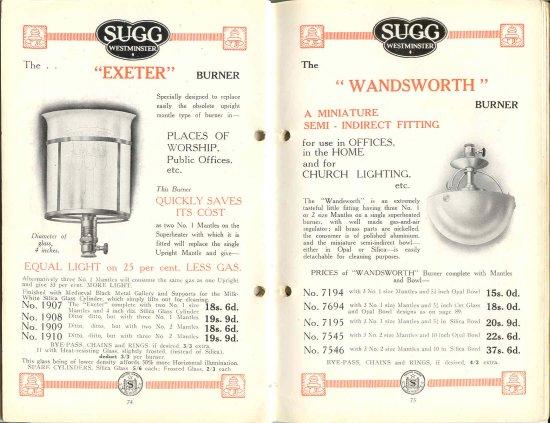 List 11 1931-2 74 & 75 550