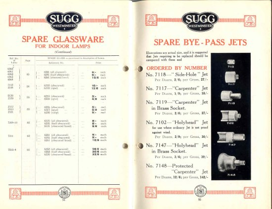 List 11 1931-2 94 & 95 550