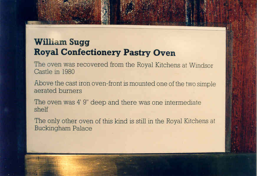 NT Museum Royal Confectioner label