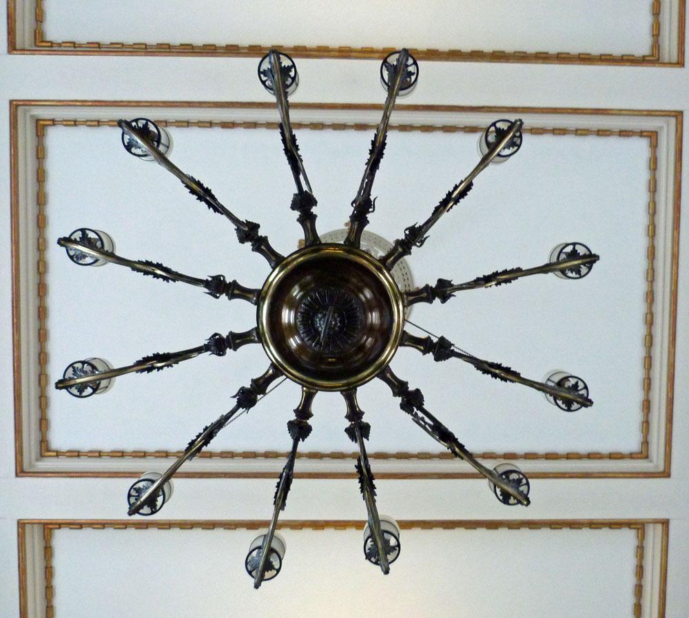 P1080359 - Version 2 Arundel chandelier vert