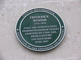 The Frederick Winsor Plaque