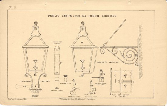 Public lamps fitted for torch lighting WS 1871 550 px