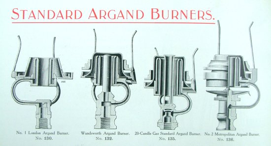 Standard Argand Bnrs March 1907 close 30 30 550