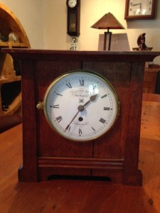 Sugg clock front