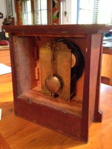Sugg clock rear