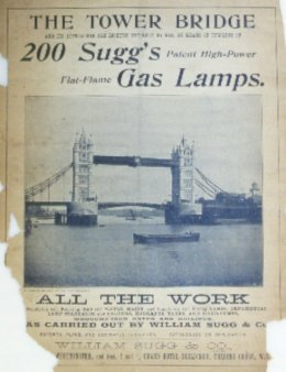 Tower Bridge Advert cut rot 260