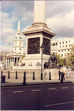 Trafalgar Square 1990