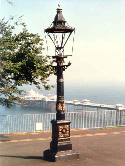 Westminster original on post Llandudno