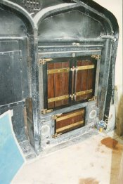 Windsor Castle Double Oven 175