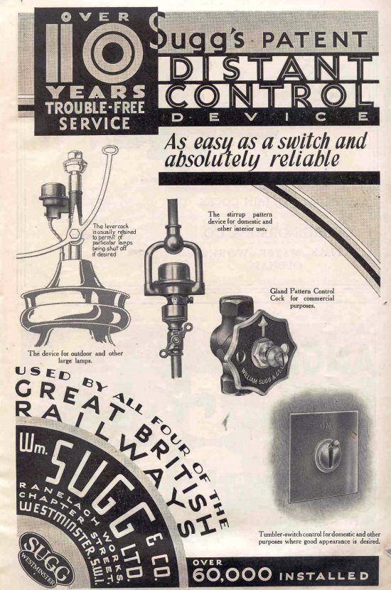 DCD advert 21.11.1934 Gas Journal 550