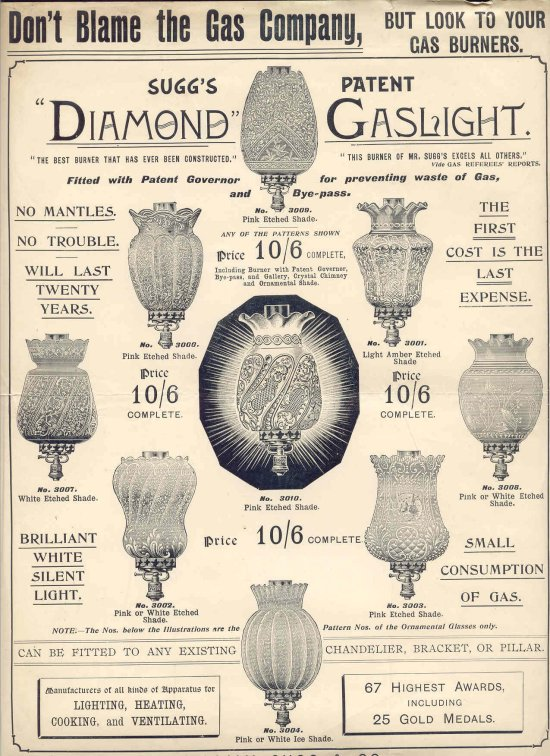 Diamond Gaslight 550