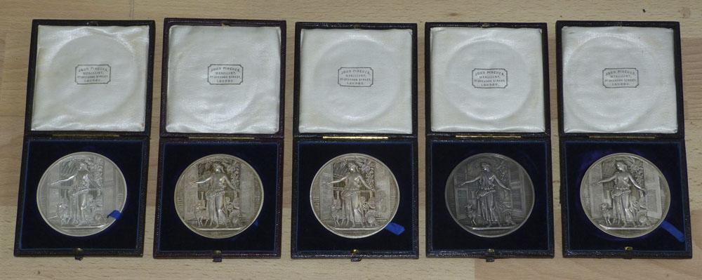 P1080554 - Crystal Palace medal set obverse