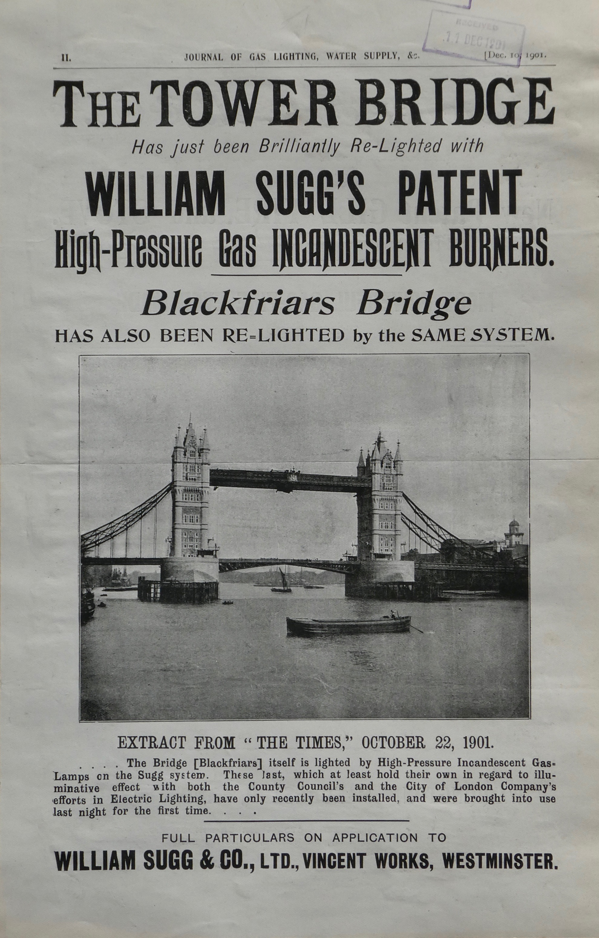 News Blog | William Sugg & Co | History of a Family Company